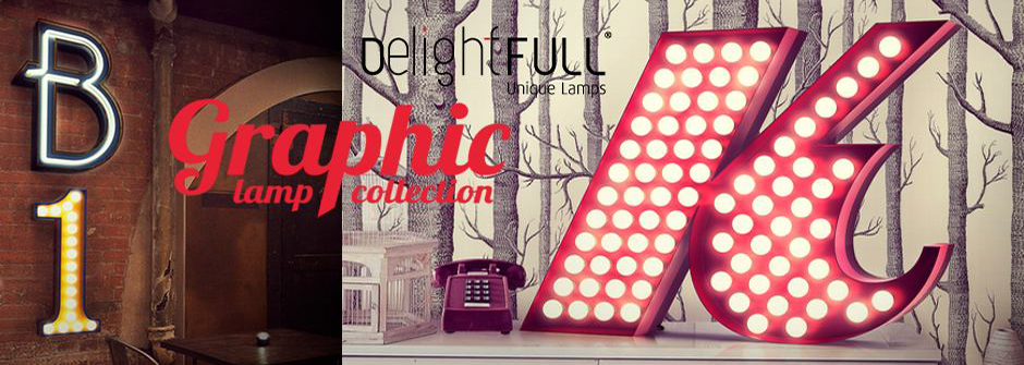 Delightful Header Lighting Trends for 2014 Lighting Trends for 2014 Light Flame Graphic Lamp Collection by Delightful Header