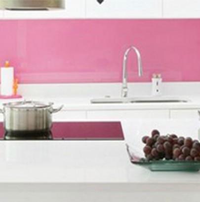 """Amazing Pink Kitchen Design Ideas"" Amazing Pink Kitchen Design Ideas Amazing Pink Kitchen Design Ideas White and Pink Kitchen wallpaper 405x410"