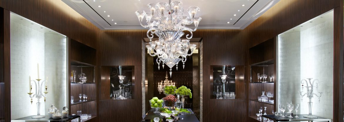 """Interior design trends: Top 10 modern chandeliers"" Interior design trends: Top 10 modern chandeliers Interior design trends: Top 10 modern chandeliers Baccarat NYC Flagship Dining Room"