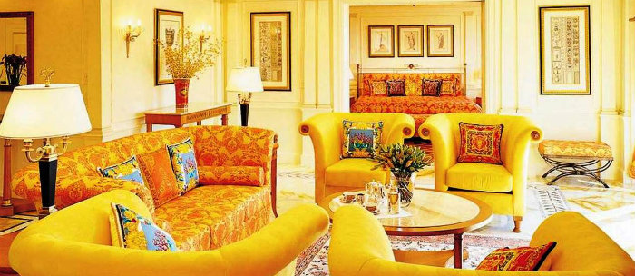 Ideas for modern spring decoration: yellow and green