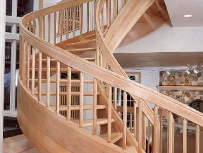 Trendy Spiral Wood Staircase Trendy Spiral Wooden Staircase Trendy Spiral Wooden Staircase Solid Wood Spiral Stair Red Oak Wood Custom Made 405x305