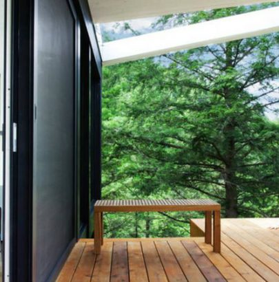 A forest house perfectly designed for a sculptor forest house A forest house perfectly designed for a sculptor forest house 10 featured 405x410