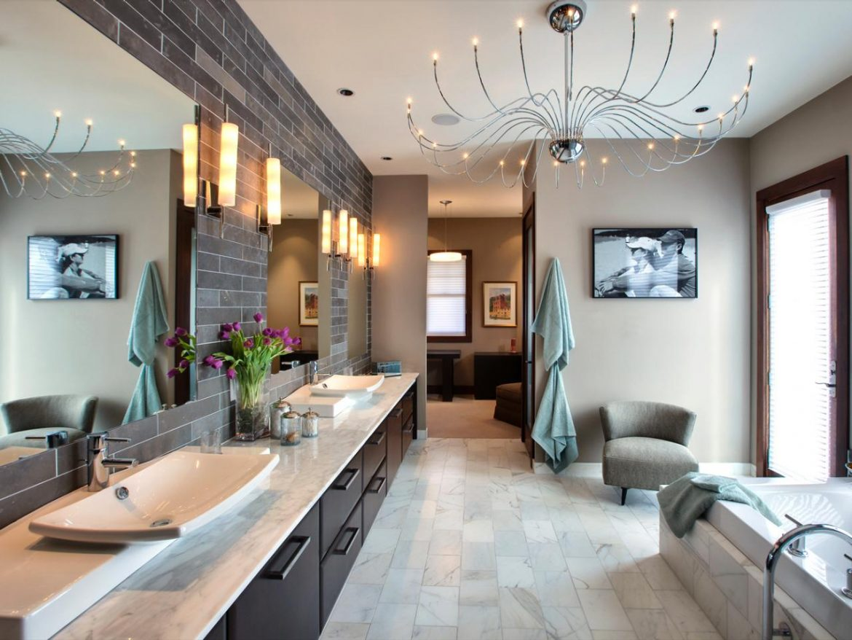 10 ideas for a perfect bathroom lighting