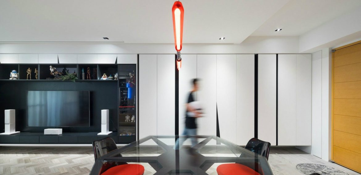 A Star Wars-Themed Apartment in Taiwan by White Interior Design