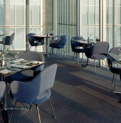 5 Mid-century Modern Dining Chairs mid-century modern dining chairs TOP 5 Mid-century Modern Dining Chairs Saarinen Executive Armchair featured 405x410