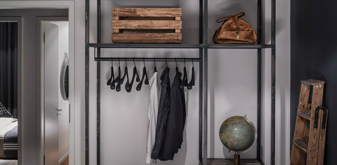 Think Different: Industrial Style Closet Designs closet designs Think Different: Industrial Style Closet Designs closet designs featured