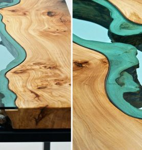 STUNNING WOODEN COFFEE TABLE WITH GLASS RIVERS AND LAKES coffee table STUNNING WOODEN COFFEE TABLE WITH GLASS RIVERS AND LAKES STUNNING WOODEN COFFEE TABLE WITH GLASS RIVERS AND LAKES f 277x293