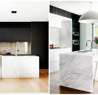 12 Stunning Modern Marble Kitchens12 marble kitchens 12 Stunning Modern Marble Kitchens 12 Stunning Modern Marble Kitchens featured 405x396
