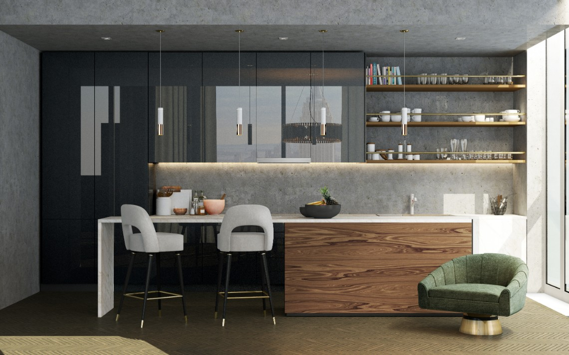 Best Gray Kitchen Ideas For A Chic Space (5) kitchen ideas Best Gray Kitchen Ideas For A Chic Space Best Gray Kitchen Ideas For A Chic Space 5