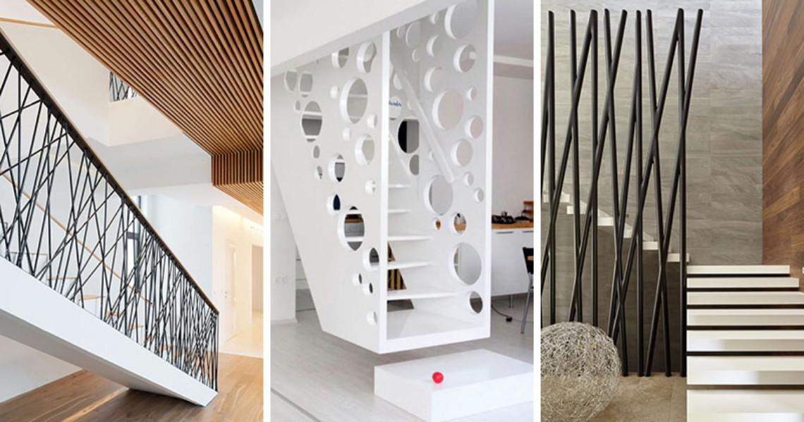 Creative Stair Railings For Your Modern Home (2) modern home Creative Stair Railings For Your Modern Home Creative Stair Railings For Your Modern Home 2