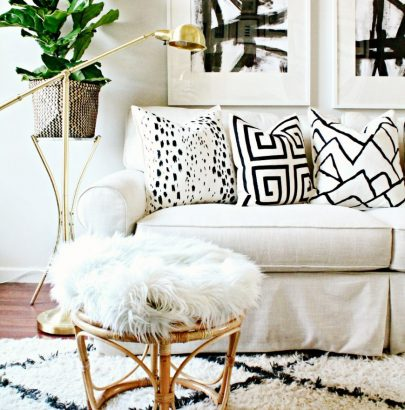 Living Space that Use Pillows to Soften and Style living space Living Space that Use Pillows to Soften and Style Living Room Spaces that Use Pillows to Soften and Style 12 1 405x410