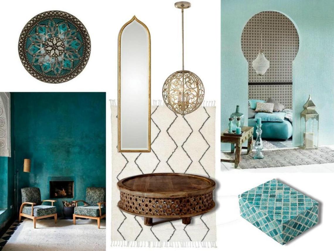 Mood Board Moroccan Style In Interior Design Modern Home
