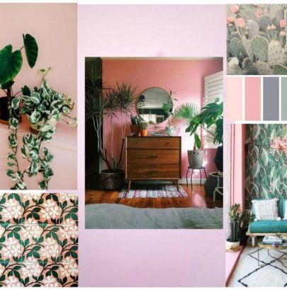 Mood Board: Pink And Green Love Affair In Home Design home design Mood Board: Pink And Green Love Affair In Home Design Mood Board Pink And Green Love Affair In Home Design 6 405x410