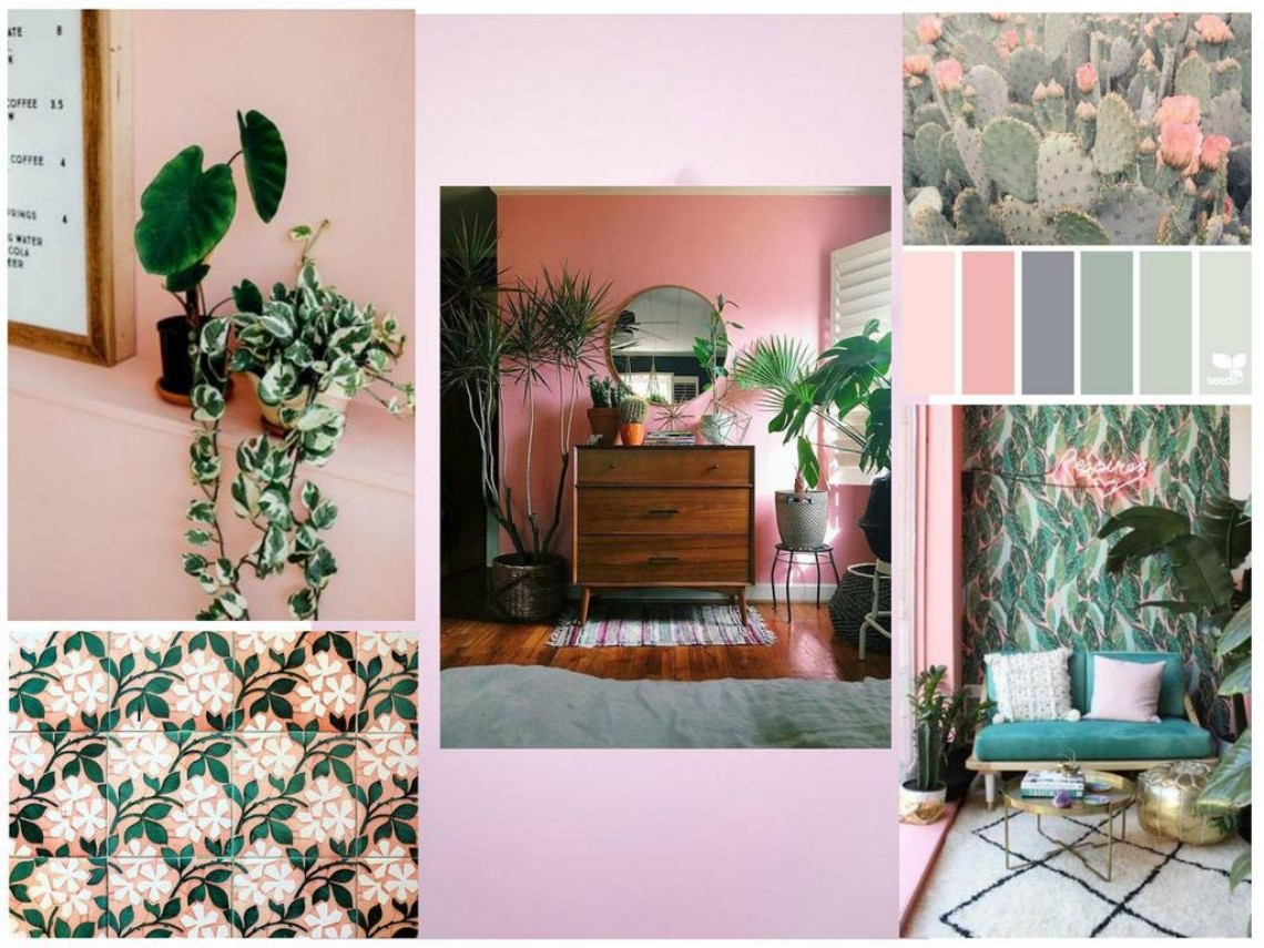 Mood Board: Pink And Green Love Affair In Home Design home design Mood Board: Pink And Green Love Affair In Home Design Mood Board Pink And Green Love Affair In Home Design 6
