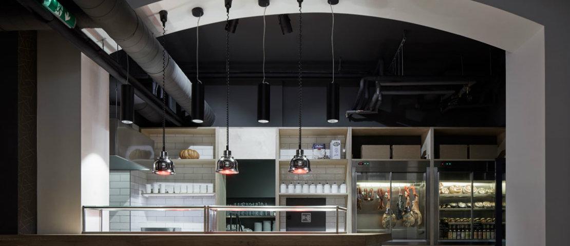 ŠPEJLE interior design restaurant
