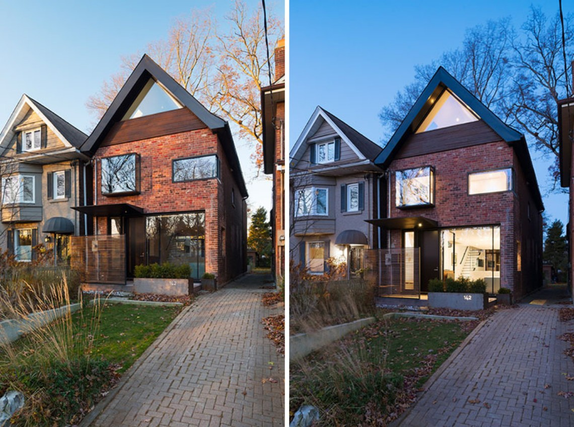 Fall in Love with these Modern Houses Made of Brick