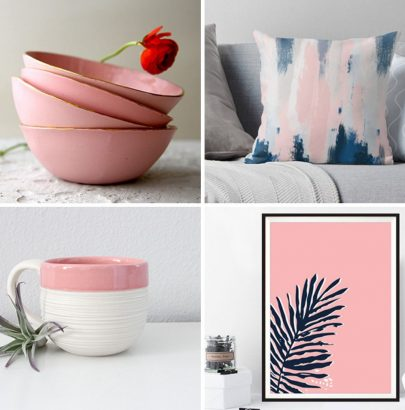 Your Home Decor Needs These Blush Pink Accents home decor Your Home Decor Needs These Blush Pink Accents Your Home Decor Needs These Blush Pink Accents 8 405x410