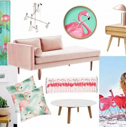 Mood Board: Feel The Pink Flamingo in Home Decor Home Decor Mood Board: Feel The Pink Flamingo in Home Decor Mood Board Feel The Pink Flamingo in Home Decor 8 405x410