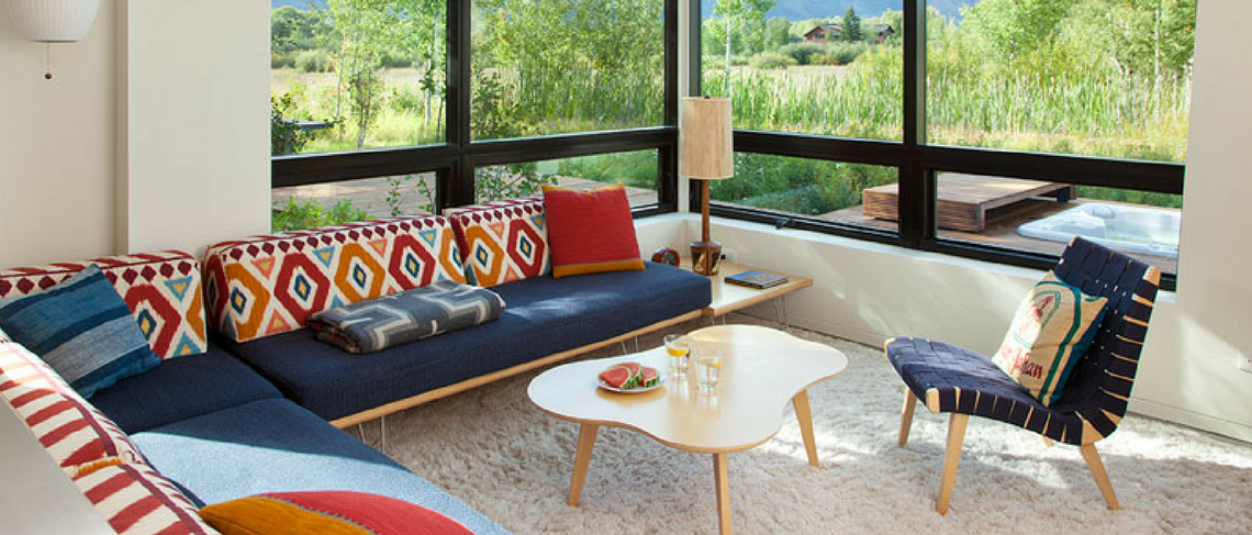 A Contemporary House Surrounded by Mountains Contemporary House A Contemporary House Surrounded by Mountains A Contemporary House Surrounded by Mountains 1