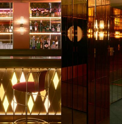 See The Mid-Century Design Of Leo's At The Arts Club London Leo's At The Arts Club London See The Mid-Century Design Of Leo's At The Arts Club London collage 6 405x410