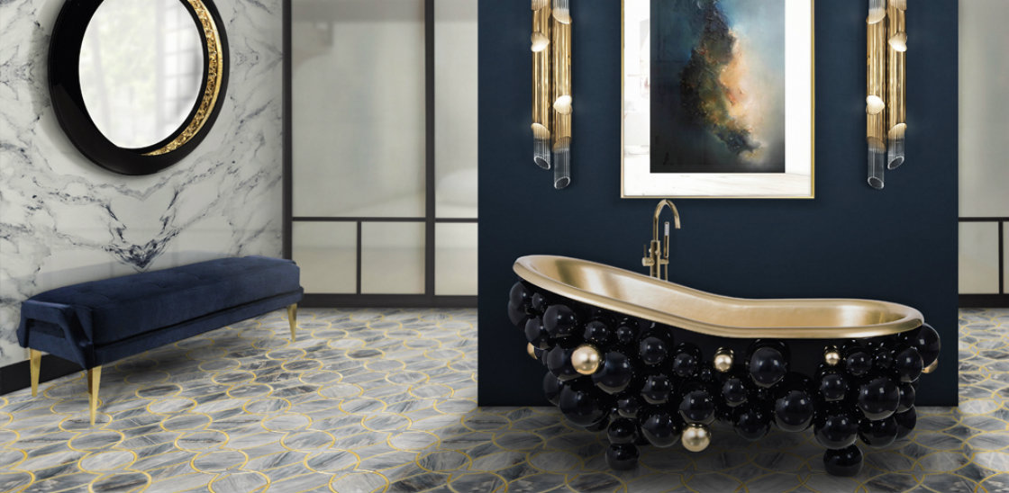 Bold statement art is invading luxurious bathrooms in 2019 f luxurious bathroom Bold Statement Art is Invading Luxurious Bathrooms in 2019 Bold statement art is invading luxurious bathrooms in 2019 f