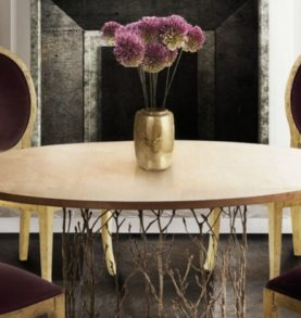 Trendy Dining Tables For 2019  Trendy Dining Tables For 2019 featured 53 277x293