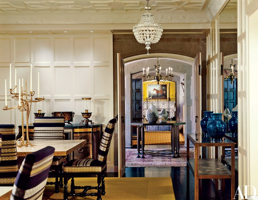 Materiality, Texture, Scale Light: Dining Rooms by Peter Marino peter marino Materiality, Texture, Scale Light: Dining Rooms by Peter Marino 2 Pinterest 1