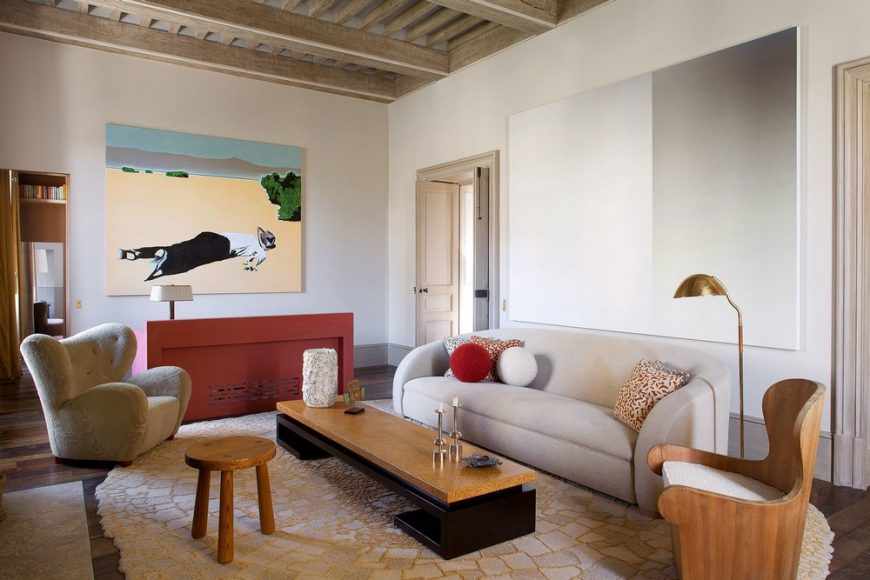 pierre yovanovitch Stunning Living Room Projects by Pierre Yovanovitch 1 Architectural Digest 2 870x580