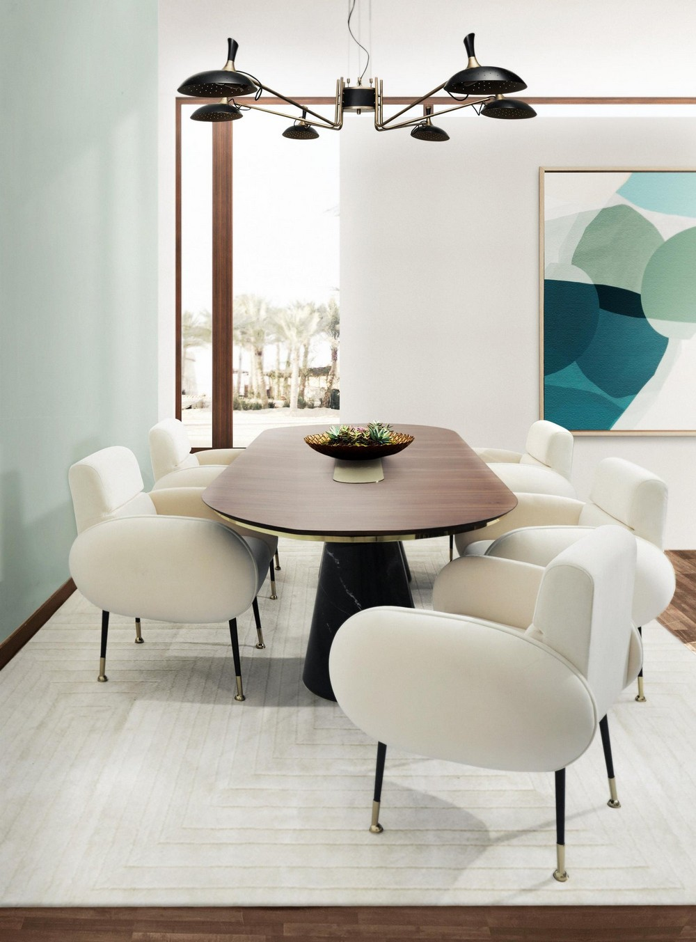 Retro Vibe Mid-century: The Dining Chairs dining chairs Retro Vibe Mid-century: The Dining Chairs marco2
