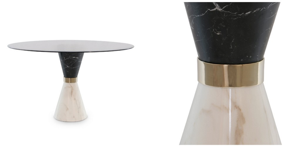 Art Deco Retro Vibe: The Dining Tables dining tables Art Deco Retro Vibe: The Dining Tables vinicius