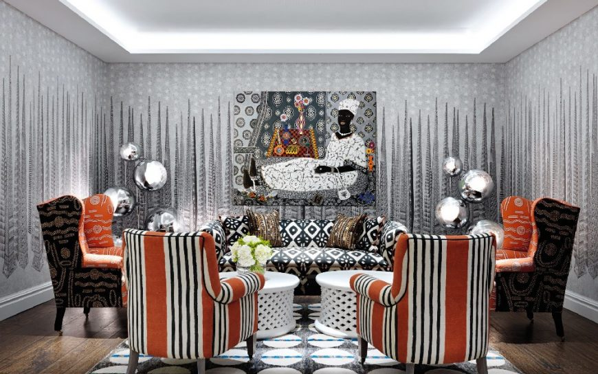 kit kemp A Mishmash of Playful Patterns: Interior Designs by Kit Kemp 3 9 870x544