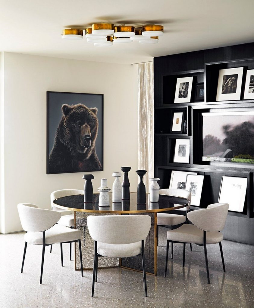 jamie bush Jamie Bush: Modern Dining Rooms For Luxury Homes 4 Pinterest 1 843x1024