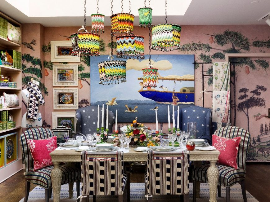 kit kemp A Mishmash of Playful Patterns: Interior Designs by Kit Kemp 7 10 870x652