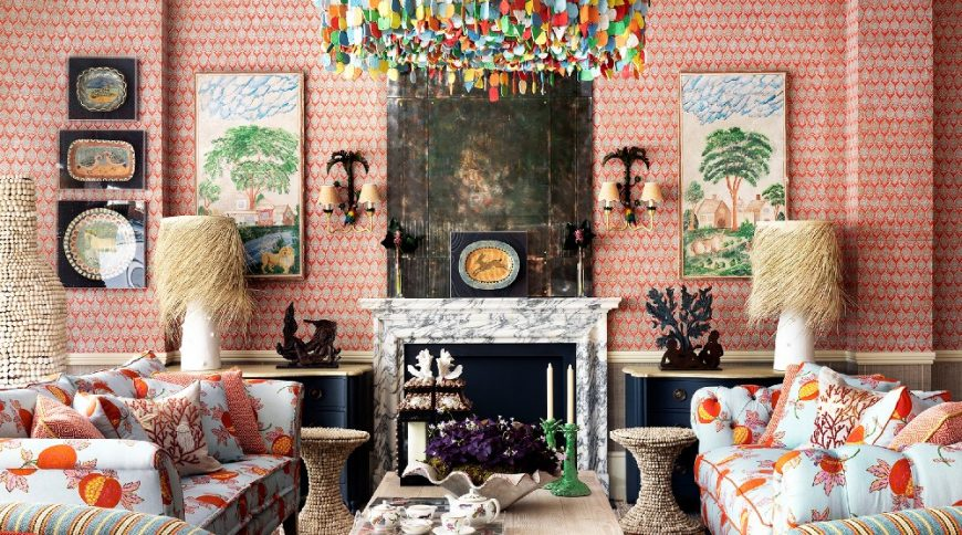 kit kemp A Mishmash of Playful Patterns: Interior Designs by Kit Kemp 9 7 870x484