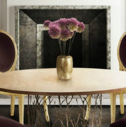 Biophilia Earth Tones: The Dining Tables biophilia earth tones Biophilia Earth Tones: The Dining Tables encnhated 405x410