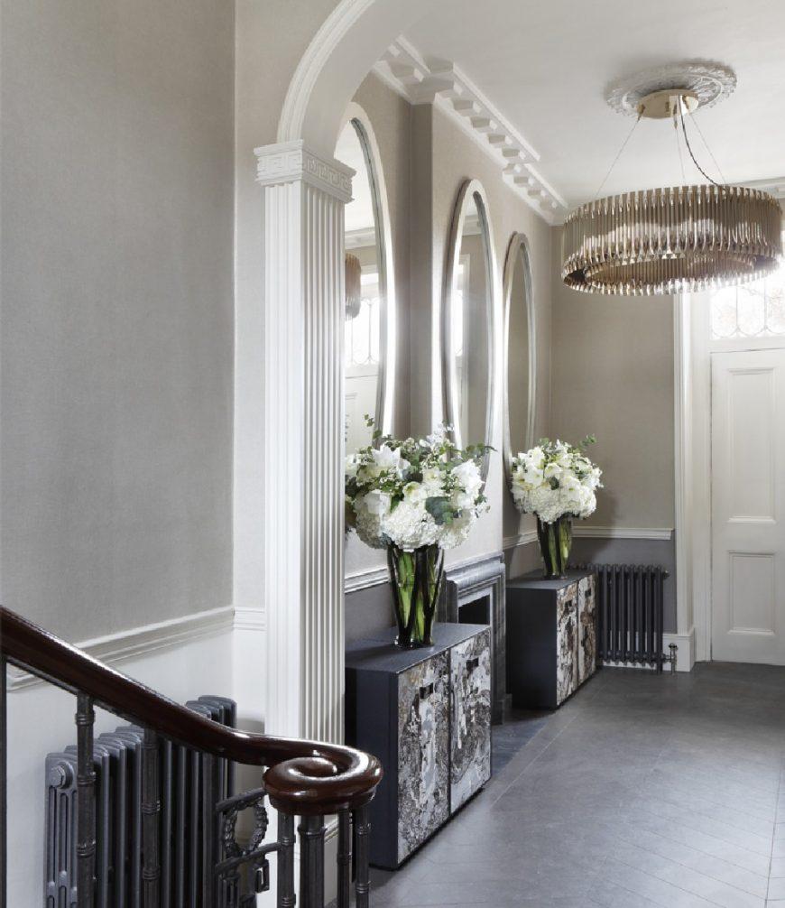 oliver burns Regent's Park Townhouse: A Brilliant Project by Oliver Burns oliver burns regents park townhouse luxury interior design london entrance 1 870x1006