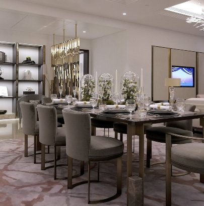 A Touch of Classic: Dining Rooms by Martin Kemp Design