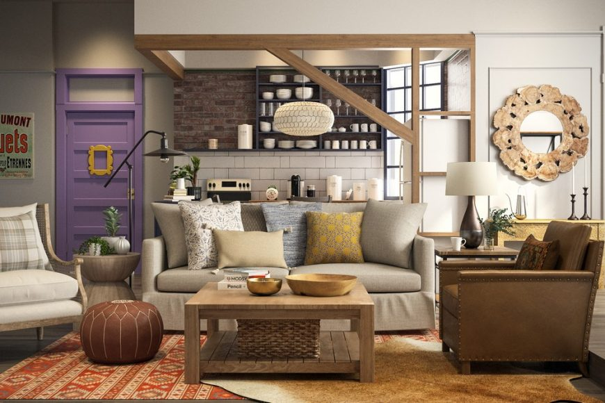 Friends: How To Recreate Manhattan's Most Famous Apartment 3 14 870x580