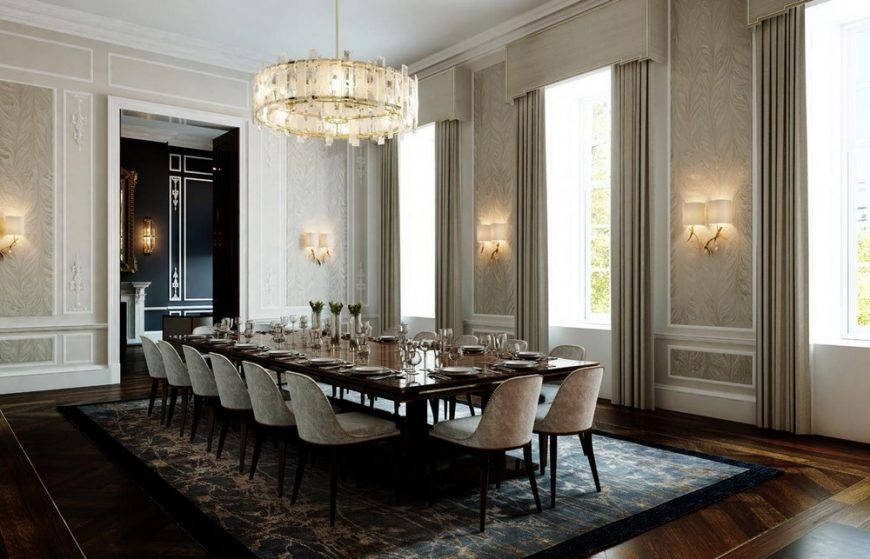 martin kemp design A Touch of Classic: Dining Rooms by Martin Kemp Design 3 2 870x559