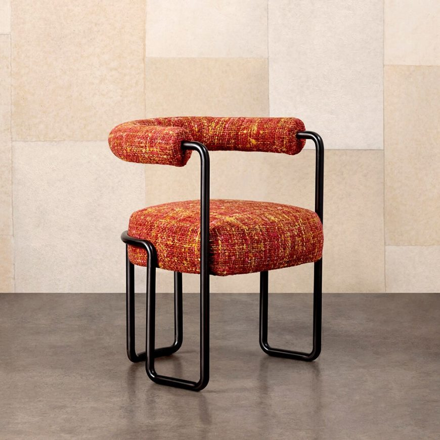 modernism Modernism and Old Hollywood Glamour: Dining Chairs by Kelly Wearstler 2 12 870x870