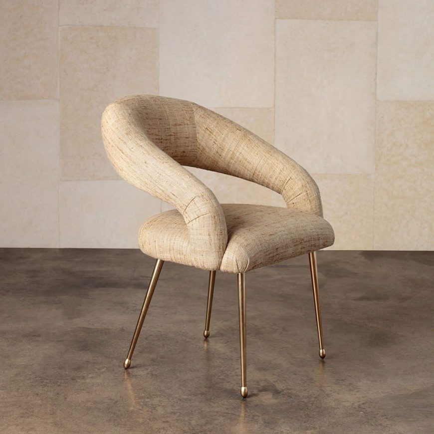 modernism Modernism and Old Hollywood Glamour: Dining Chairs by Kelly Wearstler 5 9 870x870