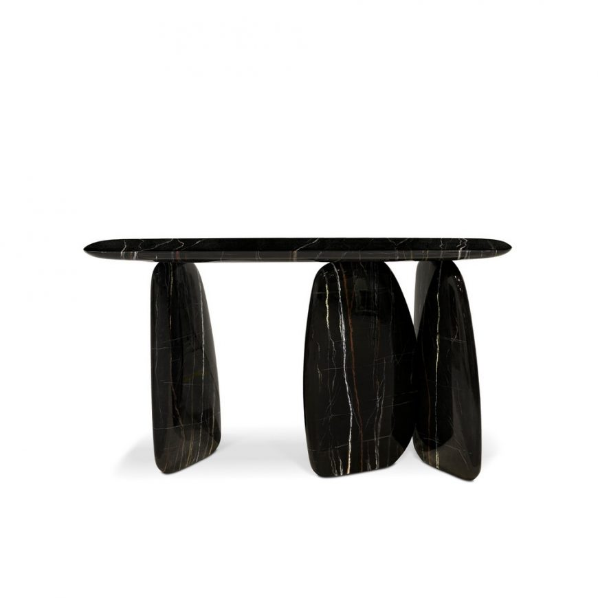 modern Eye-Catching Modern Console Tables For A Statement Entryway 1 13 870x870