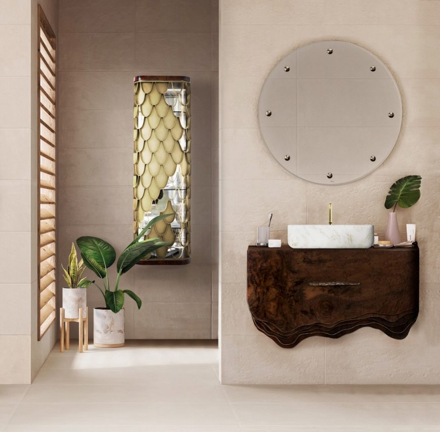trends modern design luxury bathroom spring Modern Design Trends: Make Your Luxury Bathroom Bloom This Spring 13 870x854