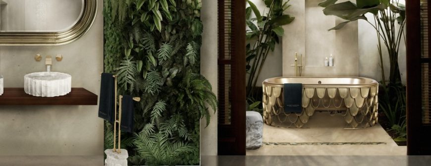 trends modern design luxury bathroom spring Modern Design Trends: Make Your Luxury Bathroom Bloom This Spring 15a 870x335