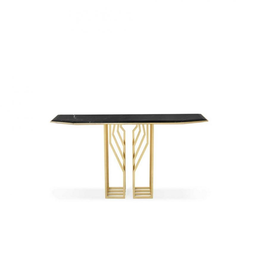 modern Eye-Catching Modern Console Tables For A Statement Entryway 3 13 870x870