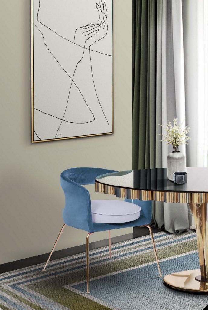 dining chairs Beautiful Dining Chairs To Give A Splash of Color In Your Dining Room 4 10 688x1024
