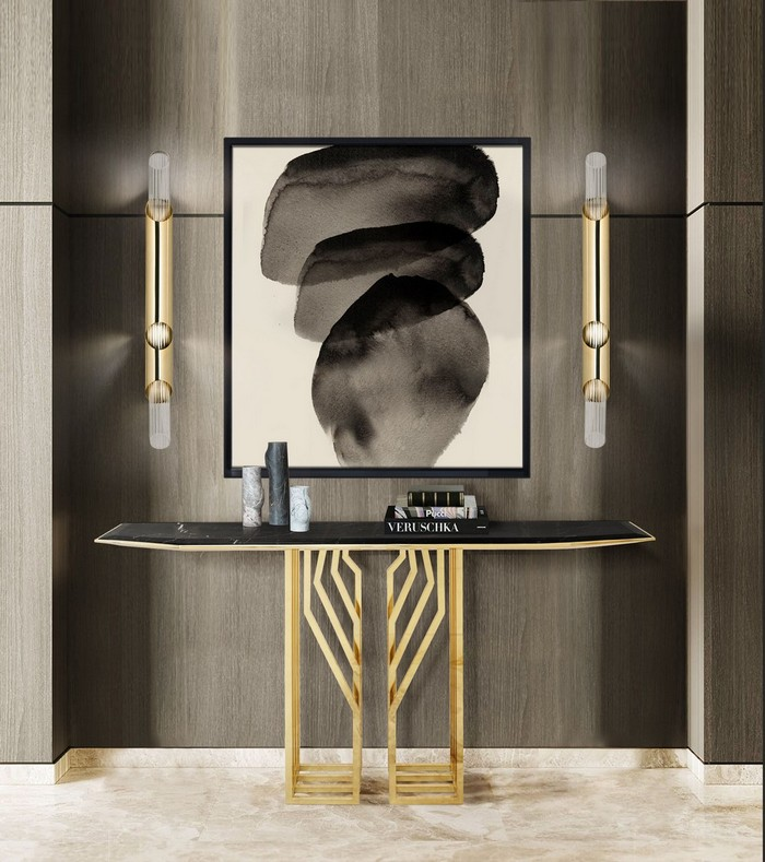 modern Eye-Catching Modern Console Tables For A Statement Entryway 4