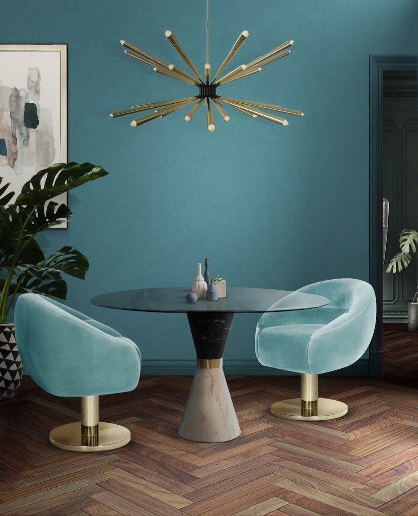 dining chairs Beautiful Dining Chairs To Give A Splash of Color In Your Dining Room 6 7 830x1024