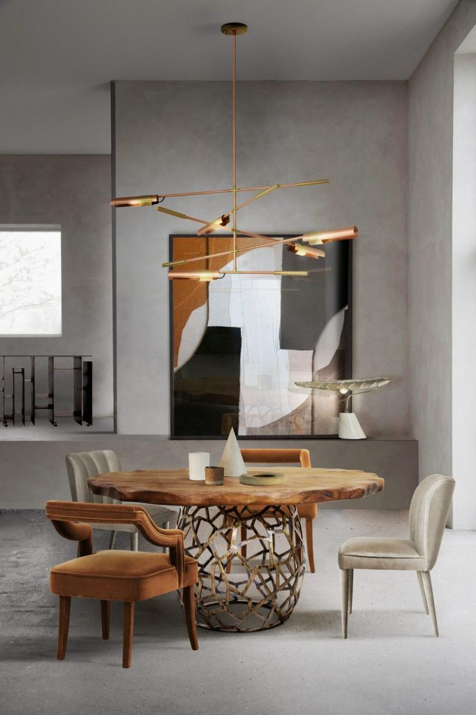 dining chairs Beautiful Dining Chairs To Give A Splash of Color In Your Dining Room 8 8 682x1024