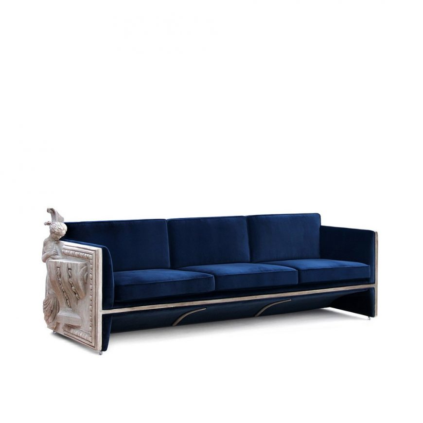 harmonious residence Harmonious Residence In London by Laith Design versailles sofa boca do lobo 01 870x870